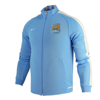 Manchester City Authentic Track Jacket - ADULT MEDIUM