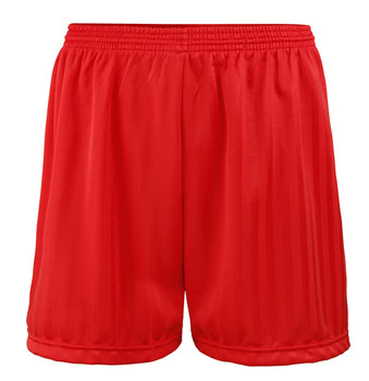 "Shadow Stripe PE Shorts - Red 18-28"""