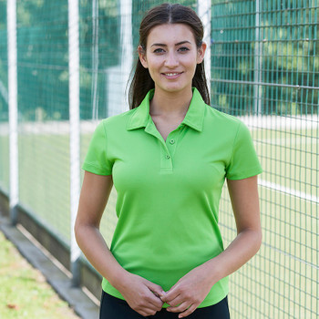 Ryde Lawn Polo - LADIES Black