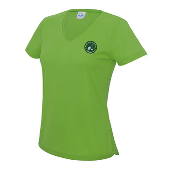 Ryde Lawn T-Shirt - LADIES Lime