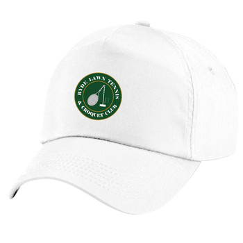 Ryde Lawn Cap - CHILD White