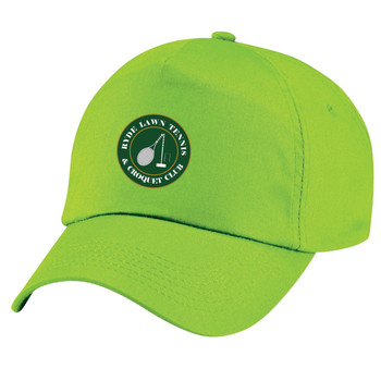 Ryde Lawn Cap - CHILD Lime