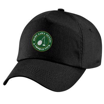 Ryde Lawn Cap - ADULT Black