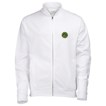 Ryde Lawn Zip Sweatshirt - ADULT White