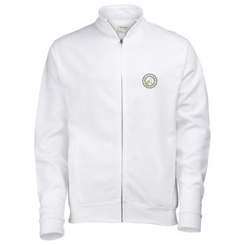 Ryde Lawn Zip Sweatshirt - ADULT White