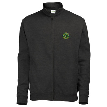 Ryde Lawn Zip Sweatshirt - ADULT Black