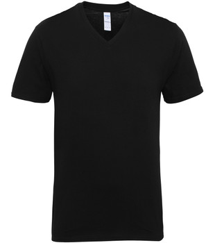 Premium Cotton V-Neck T-Shirt - ADULT