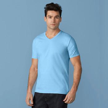 Premium Cotton V-Neck T-Shirt - ADULT