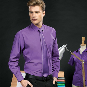 Poplin Shirt - Men's L/Sleeve