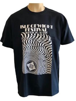 IW Festival 1970 T-Shirt - Adult 'Black'
