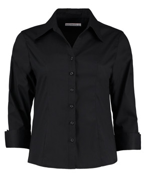 Corporate Oxford Blouse - Ladies 3/4 Sleeve