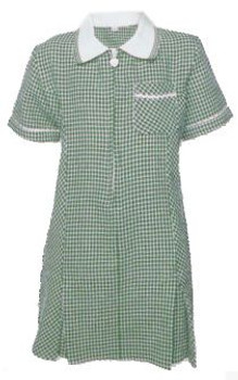 Green Gingham Summer Dress
