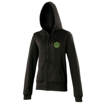 Ryde Lawn Zip Hoodie - LADIES Black