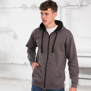 Full Zip Varsity Hoodie - ADULT