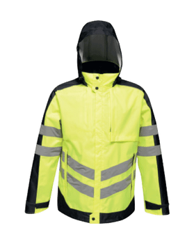 Hi-Vis Pro Contrast Insulated Jacket