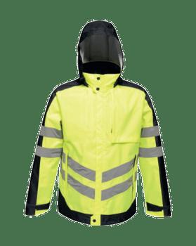 Hi-Vis Pro Contrast Insulated Jacket
