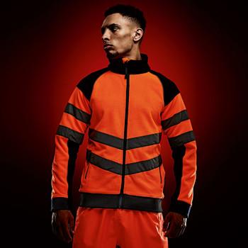 Hi-Vis Pro Contrast Fleece Jacket