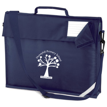 Hunnyhill Book Bag with Strap