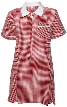 Red Gingham Summer Dress
