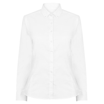 Modern Oxford Shirt - Ladies L/Sleeve