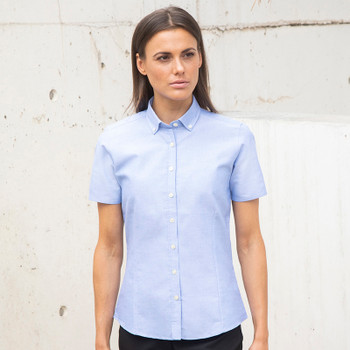 Modern Oxford Shirt - Ladies S/Sleeve