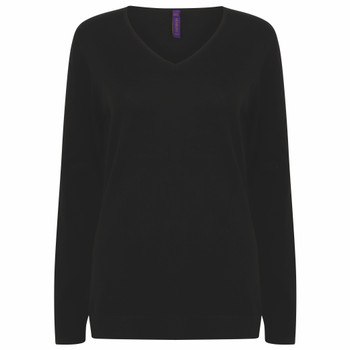 Lightweight V-Neck Sweater - LADIES