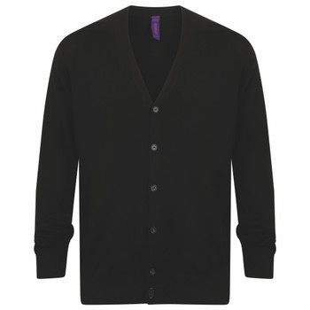 V-Neck Button Cardigan - MEN'S