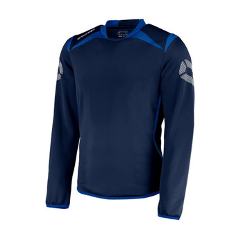 Forza Round Neck Top - Navy/Royal