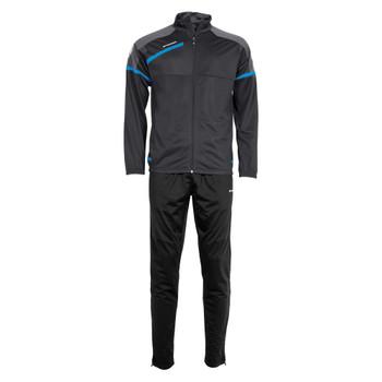 Prestige Polyester Suit - Dark Grey/Blue