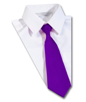 Purple School Tie