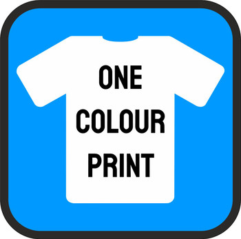 One Colour Screen Print
