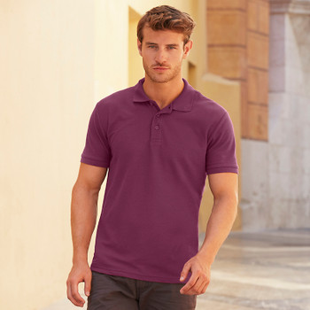 Poly/Cotton Pique Polo - Men's