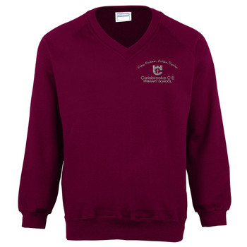 Carisbrooke Primary V-Neck Sweatshirt