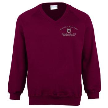 Carisbrooke Primary V-Neck Sweatshirt