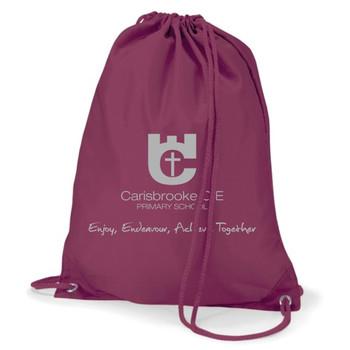 Carisbrooke Primary PE Bag