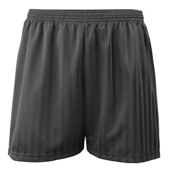 Shadow Stripe PE Shorts - Black 18-28""