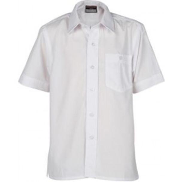 """Innovation Boys S/Sleeve Shirt - Sizes 11-14.5"""" Collar"""