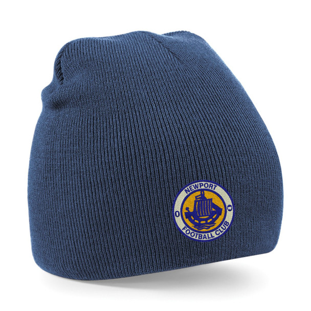 Newport IW FC Pull-On Beanie - NAVY
