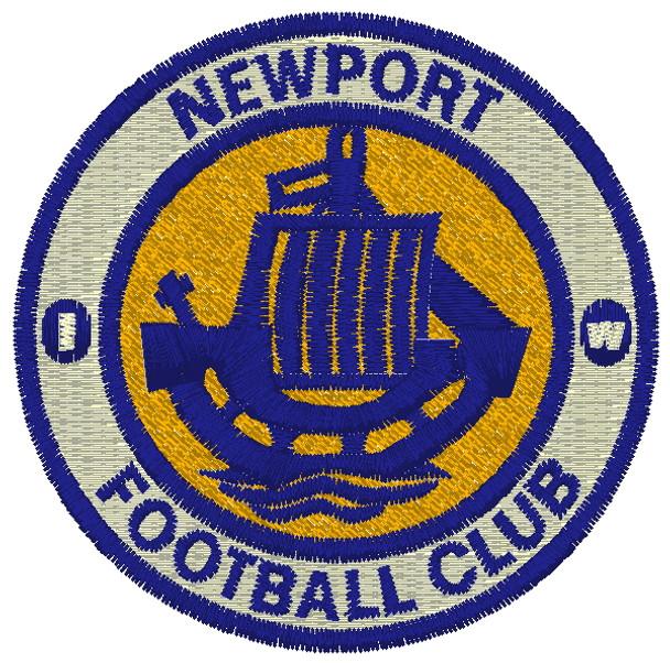 Newport IW FC Fleece Scarf - NAVY