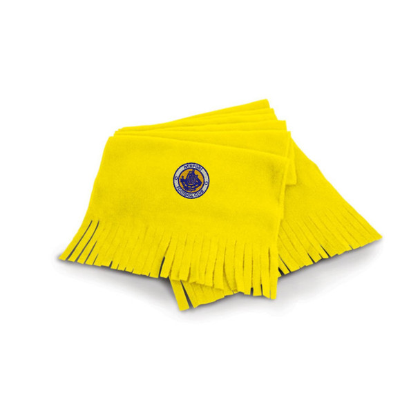 Newport IW FC Fleece Scarf - YELLOW