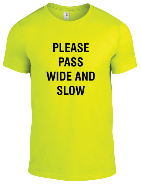 """Equestrian """"Please Pass Wide and Slow"""" T-Shirt"""