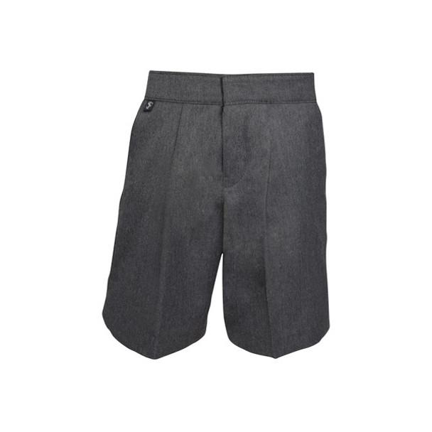 Boys School Shorts - Grey
