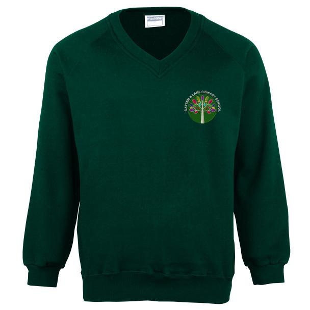 Gatten & Lake V-Neck Sweatshirt