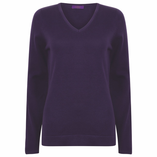 Lightweight V-Neck Sweater - LADIES
