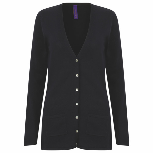 V-Neck Button Cardigan - LADIES
