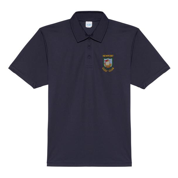Newport Golf Club Polo - Men's Cool Polyester