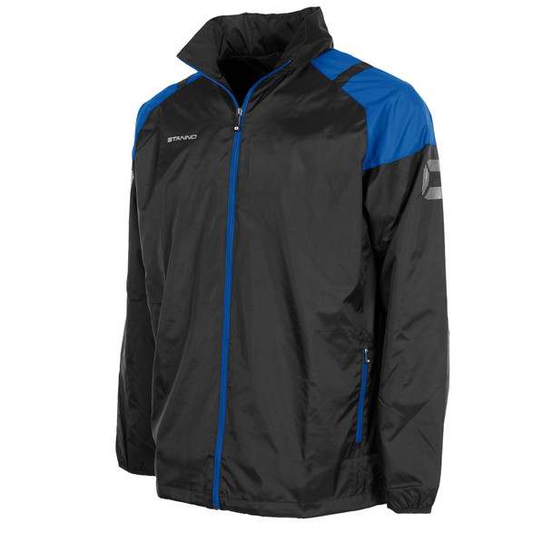 Centro All Weather Jacket - Black/Royal