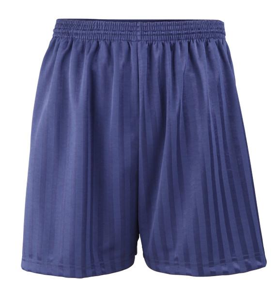 "Shadow Stripe PE Shorts - Navy 18-28"""