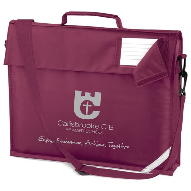 Carisbrooke Primary Book Bag with Strap