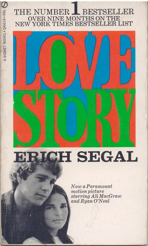 Customer Review Love Story By Erich Segal Firefly Bookstore